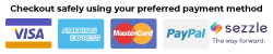 Payment icons.